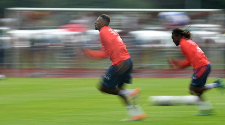 El Bayern ya tasó a Boateng. AFP