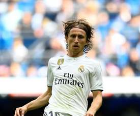 Real Madrid, Luka Modric. AFP