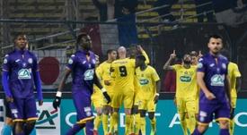 El Nantes apeó al Toulouse. AFP