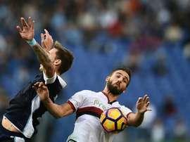 Leonardo Pavoletti ha sido el fichaje invernal más caro de la Serie A. EFE/Archivo