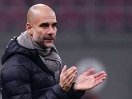 Guardiola invite 114 fans pour le match face au Shakhtar. AFP