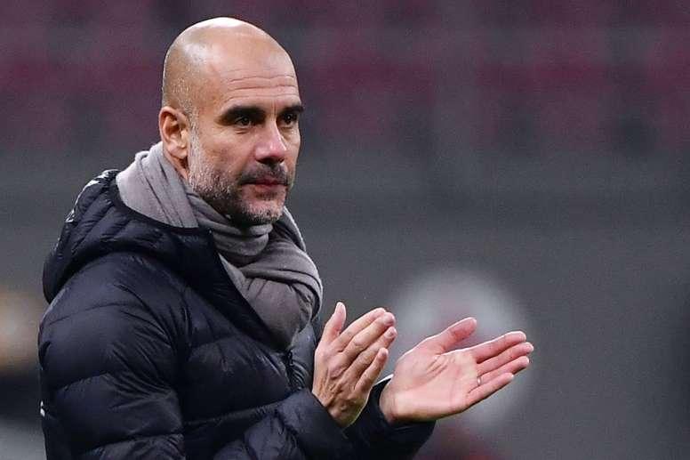 Guardiola invite 114 fans pour le match face au Shakhtar. AFP