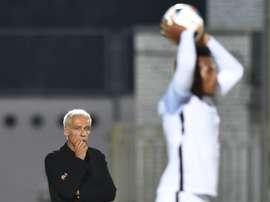 Le sélectionneur de l'équipe de France Espoirs Pierre Mankowski. AFP