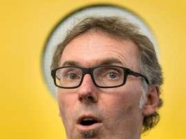 L'ancien sélectionneur français Laurent Blanc. AFP