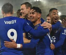 Leicester iguala a maior goleada da história da Premier League. AFP