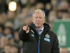 L'Anglais Steve McLaren, alors entraîneur de Newcastle. AFP