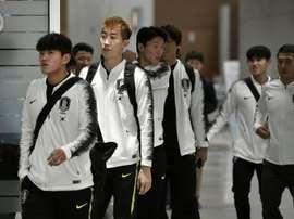 L'expérience surréelle des footballeurs sud-coréens au Nord. AFP