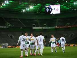 Les compos probables du match de Bundesliga entre 'Gladbach et Leverkusen. AFP