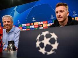 Le jour où Reus a rejeté Messi, Neymar et Luis Suárez. AFP