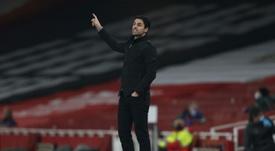 El Arsenal no descarta aplazar el fichaje de Buendía para junio. AFP
