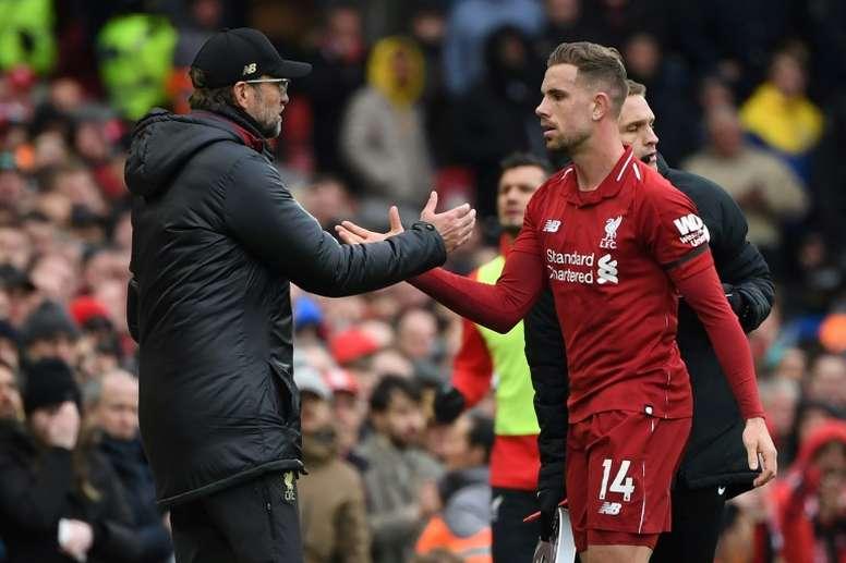 La métamorphose d'Henderson en Ligue des Champions. AFP