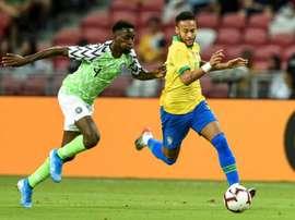 Le PSG vise un international nigérian. AFP