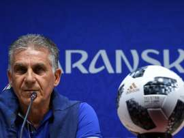 Carlos Quieroz managed Iran at the World Cup this summer. AFP