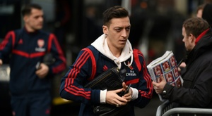 Mesut Özil riparte dalla Turchia. AFP