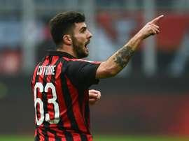 Des rumeurs provenant d'Italie assurent que son père s'est réuni avec les agents de l'Atlético. AFP