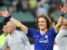 Arsenal chega a acordo por David Luiz. AFP