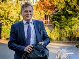 Le Français Jérôme Valcke, ancien secrétaire général de la Fifa. AFP