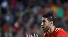 Ramos é o melhor defesa no ranking da UEFA. AFP