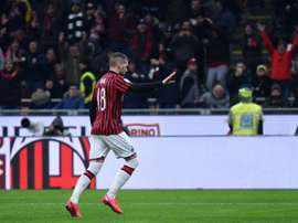 Ante Rebic's loan deal at AC Milan is expected to be made permanent. AFP
