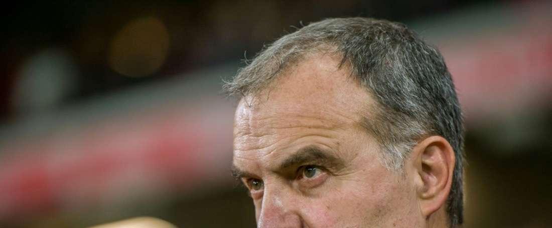 Bielsa commence sur les chapeaux de roue avec Leeds. AFP