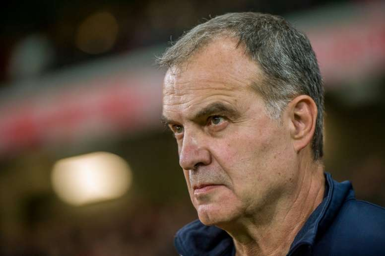Bielsa has got off to a perfect start at Leeds. AFP