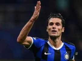 Candreva quitte l'Inter Milan pour la Sampdoria. afp