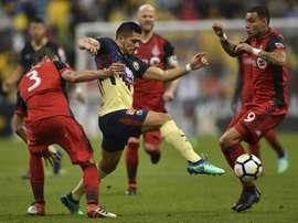 Finale de la CONCACAF. AFP