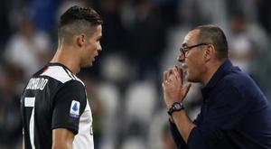 Cassano a parlé de la relation entre Cristiano et Sarri. AFP