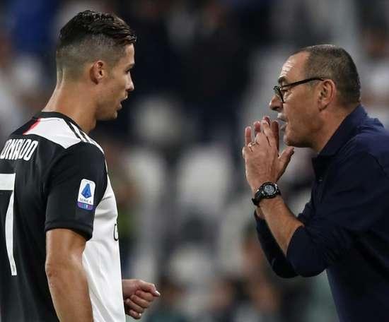 Os três reforços que Sarri pediu para a Juventus. AFP