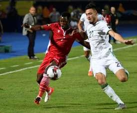 Bensebaïni et Mbaye Niang, amis à Rennes, rivaux en Afrique. AFP