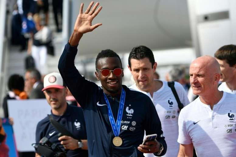 Matuidi ya ha pensado en su retirada con Francia. AFP