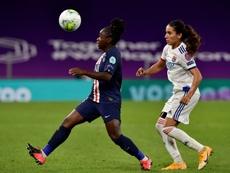 PSG-Lyon au Parc des Princes, une première chez les filles. AFP