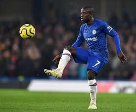 Kanté só sairia do Chelsea se fosse ao United. AFP