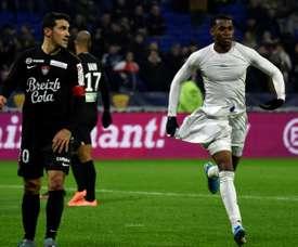 Jean Lucas veut se faire une place à Lyon. AFP