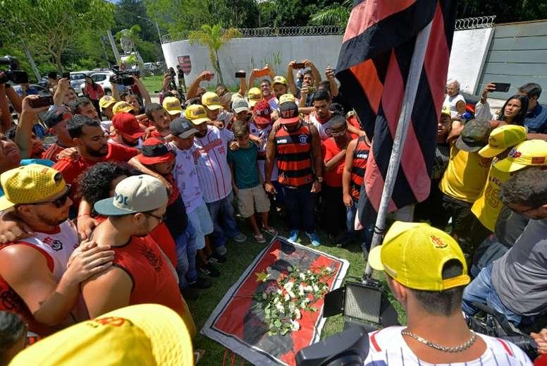 O Flamengo assumiu todas as responsabilidades. AFP