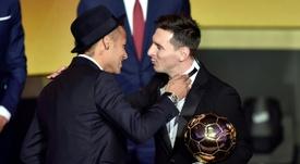 Neymar dépasse Messi et Ronaldo grâce à son nouveau sponsor. afp