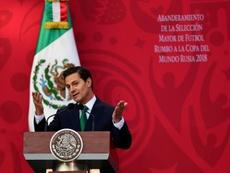 Le président mexicain Enrique Pena Nieto. AFP