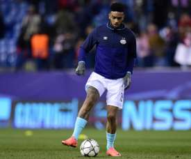 Hughton played down reports Locadia could leave the club in the near future. AFP