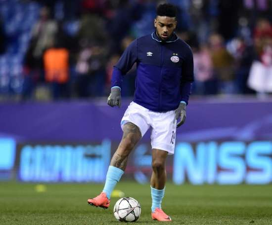 The former PSV player is eyeing another move in January. AFP