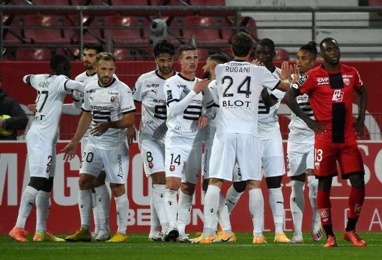 Rennes-Krasnodar : Del Castillo attendu, Doku attendra. AFP