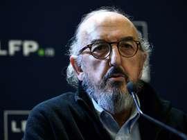 Mediapro ne comprend pas l'arrêt de la Ligue 1. AFP