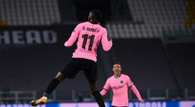 Dembele cost five million more than previously thought. AFP