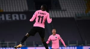 Jordi Cruyff croit en le potentiel de Dembélé. AFP