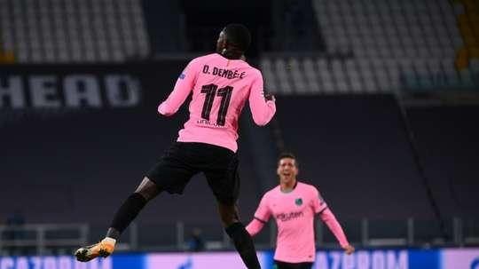 Enfin la bonne saison pour Ousmane Dembélé ? AFP