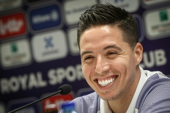 Nasri alabó el trabajo de Guardiola. AFP