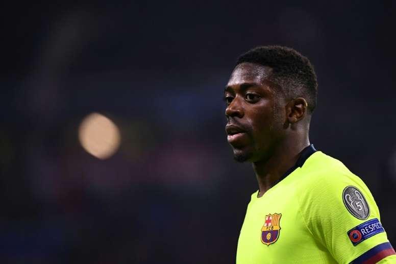 Valverde não vai correr riscos com Dembélé. AFP