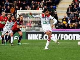 Lyon joue la finale de la Ligue des champions. AFP