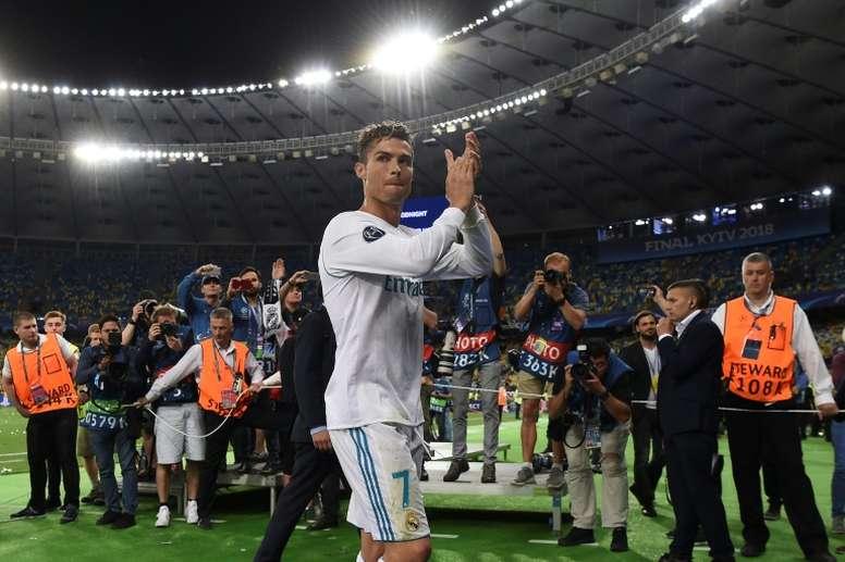 Pas de retour de Cristiano Ronaldo au Real Madrid. AFP