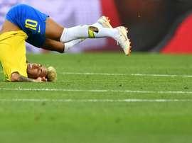 Nouvelle manière de s'amuser au Brésil. AFP