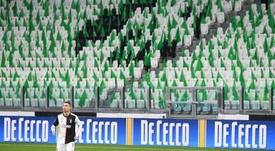El fútbol italiano queda suspendido. AFP